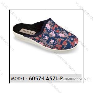 Papuče pantofle dámské (37-41) MJARTAN OBUV 6057-LA57L-B