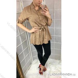 Košile  s 3/4 rukávem dámské (uni s-l) ITALSKá MóDA IM3181747