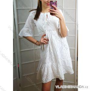 Šaty krajkové 3 4 dlhý rukáv dámsky (uni sl) TALIANSKÁ MÓDA IMC19165 fb7ffb2805