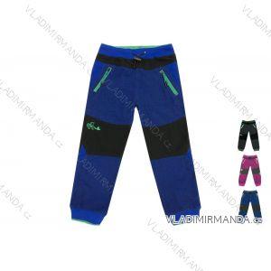 Kalhoty manžestrové outdoor bavlněné kojenecké a dětské dívčí a chlapecké (80-110) KUGO C2701
