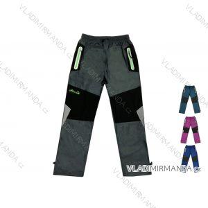 Kalhoty manžestrové outdoor bavlněné dorost  chlapecké (134-164) KUGO T5708