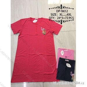 Košile noční krátký rukáv dámská (xl-5xl) VALERIE DREAM DP-9412