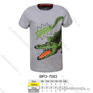 Tričko krátký rukáv dětské chlapecké (98-128) GLO-STORY BPO-7083
