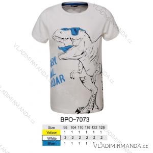 Tričko krátký rukáv dětské chlapecké (98-128) GLO-STORY BPO-7073
