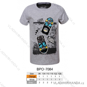 Tričko krátký rukáv dětské chlapecké (98-128) GLO-STORY BPO-7084
