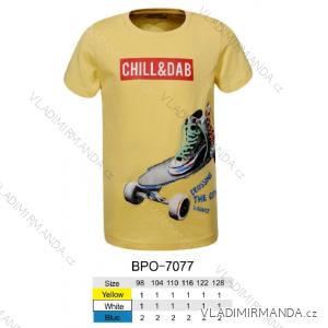 Tričko krátký rukáv dětské chlapecké (98-128) GLO-STORY BPO-7077