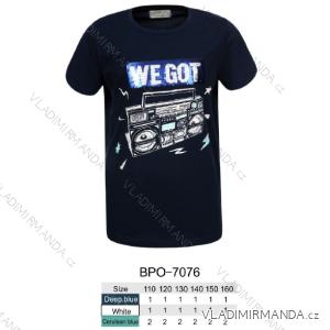 Tričko krátký rukáv dětské dorost chlapecké (110-160) GLO-STORY BPO-7076