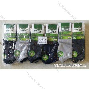 Ponožky dámské pánské kotníkové bambusové (39-46) AURA.VIA FFD3359