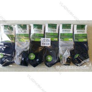 Ponožky dámské pánské kotníkové bambusové (39-46) AURA.VIA FFD3366