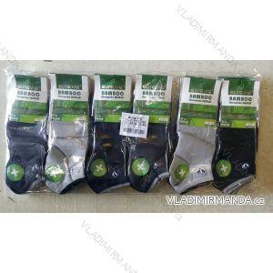 Ponožky dámské pánské kotníkové bambusové (39-46) AURA.VIA FFD3358