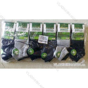 Ponožky dámské pánské kotníkové bambusové (39-46) AURA.VIA FFD3357
