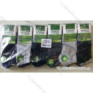 Ponožky dámské pánské kotníkové bambusové (39-46) AURA.VIA FFD3361