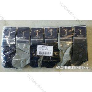 Ponožky dámské pánské kotníkové bavlněné (39-46) AURA.VIA FFD3370