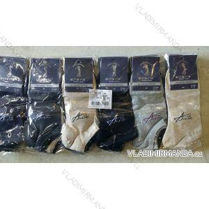 Ponožky dámské pánské kotníkové bavlněné (39-46) AURA.VIA FFD3388