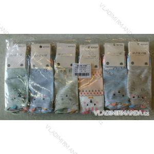 Ponožky dámské kotníkové bavlněné obrázkové (35-41) AURA.VIA NDP3223