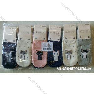 Ponožky dámské kotníkové bavlněné obrázkové (35-41) AURA.VIA NDP3226