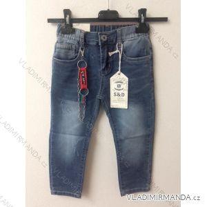 Rifle jeans dětské chlapecké (1-5) H. L. XIANGDT-1049