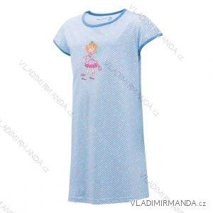 Noční košile s krátkým rukávem dětská dorost dívčí (104-134) WOLF S2981