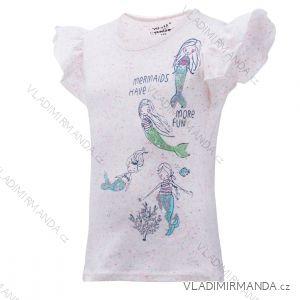 Tričko krátký rukáv dětské dorost dívčí (122-152) WOLF S2922