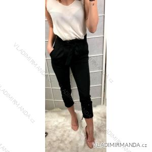 Kalhoty dlouhé do pasu dámské (s-l) ITALSKá MóDA IM919149