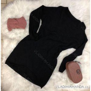 Šaty 3/4 krátký rukáv (uni s-l) DáMSKé VOGUE  ITALSKá MóDA IMC18457