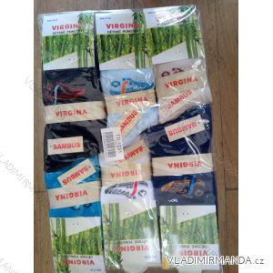 Ponožky bambusové dětské dorost chlapecké (27-38) VIRGINA TD1031