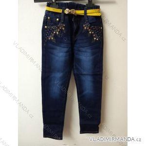 Rifle jeans dětské dorost dívčí (116-146) SAD D123
