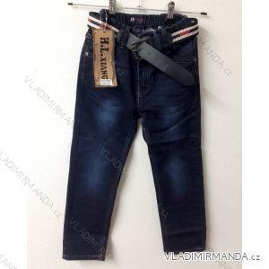 Rifle jeans dětské dorost chlapecké (116-146) SAD D168