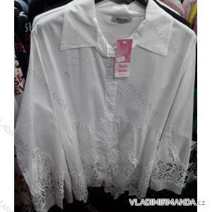 Košile dlouhý rukáv krajka dámské (uni s/m) ITALSKÁ MÓDA IMT19302