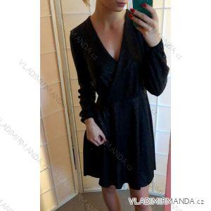 Šaty elegantní společenké dámské (uni s-l) ITALSKá MÓDA IMT19016