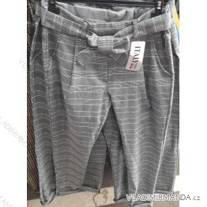 Kalhoty dlouhé do pasu dámské (s-l) ITALSKá MóDA IM919169