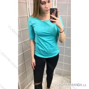 Tričko 3/4  dlouhý rukáv dámské (uni) ITALSKá MóDA IM517203
