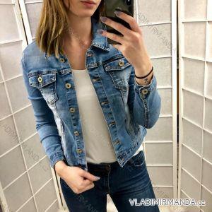 Bunda riflová jeans dámská (s-2xl) GOURD MA119GD1008-K