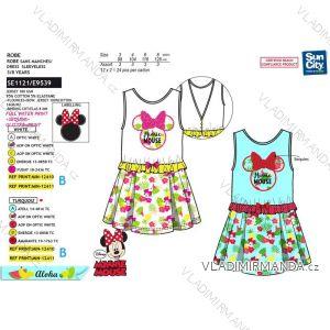 Šaty letní minnie mouse dětské dívčí (3-8 let) SUN CITY SE1121