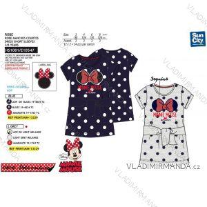 Šaty krátký rukáv minnie mouse dětské dívčí (3-8 let) SUN CITY HS1081