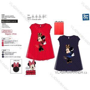 Šaty krátký rukáv minnie mouse dětské dívčí (3-8 let) SUN CITY HS1123