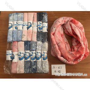Šátek jarní kruhový dámský (one size) DELFIN JK-153