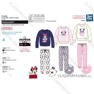 Pyžamo dlouhé minnie mouse dámské (s-xl) SUN CITY HS3622