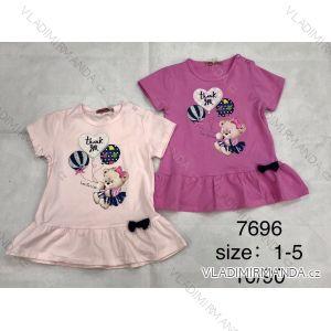 Tričko krátký rukáv dětské dívčí (1-5 LET) FaD MA3197696