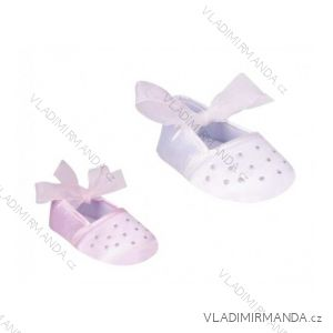 Capáčky botičky kojenecké dívčí (0-6, 6-12m) YO! OB-061