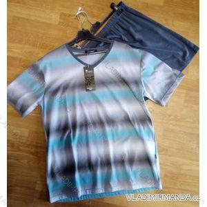 Pyžamo krátké komplet letní pánský 3XL-6xl  AK8351-V