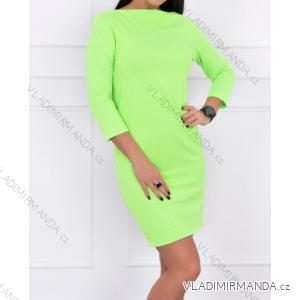 Šaty dlouhý rukáv dámské (one size) TURECKO ESI198825