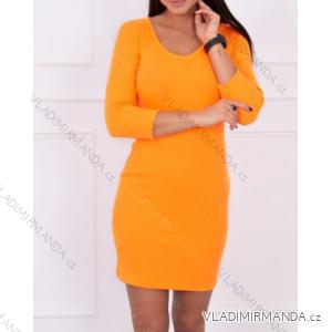 Šaty dlouhý rukáv dámské (one size) TURECKO ESI198863