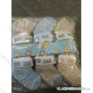 Ponožky kojenecké dívčí a chlapecké (one size) AODA AOD19012
