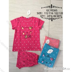 Pyžamo krátké dětské dívčí (128/134-158/164) VALERIE DREAM GC-9336S