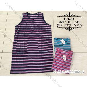 Košile noční bez rukávů dámská (xl-5xl) VALERIE DREAM O-9433