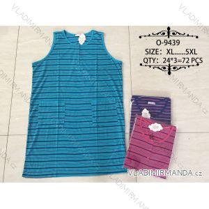 Košile noční bez rukávů dámská (xl-5xl) VALERIE DREAM O-9439