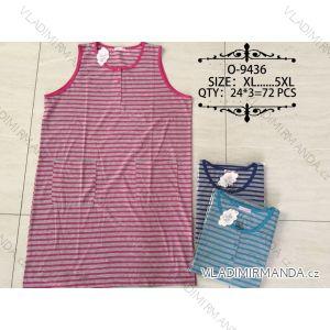 Košile noční bez rukávů dámská (xl-5xl) VALERIE DREAM O-9436