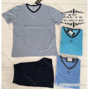 Pyžamo krátké pánské (m-2xl) N-FEEL MC-9811