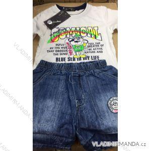 Souprava dětská tričko dlouhý rukáv a kalhoty riflové (1-5 let) FAD MA319KK14